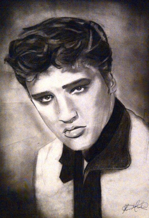 Elvis Presley by JLM23